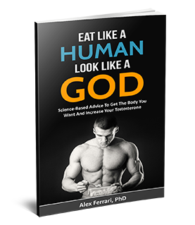 Eat Like a Human Look Like a God 3D cover